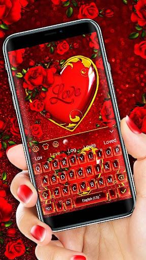 Valentine Heart Keyboard Theme 10001002 1
