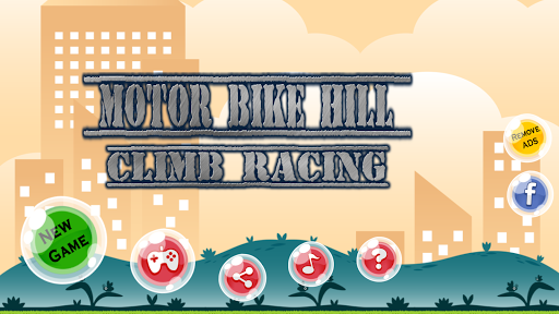 Motor Bike Hill Climb Racing
