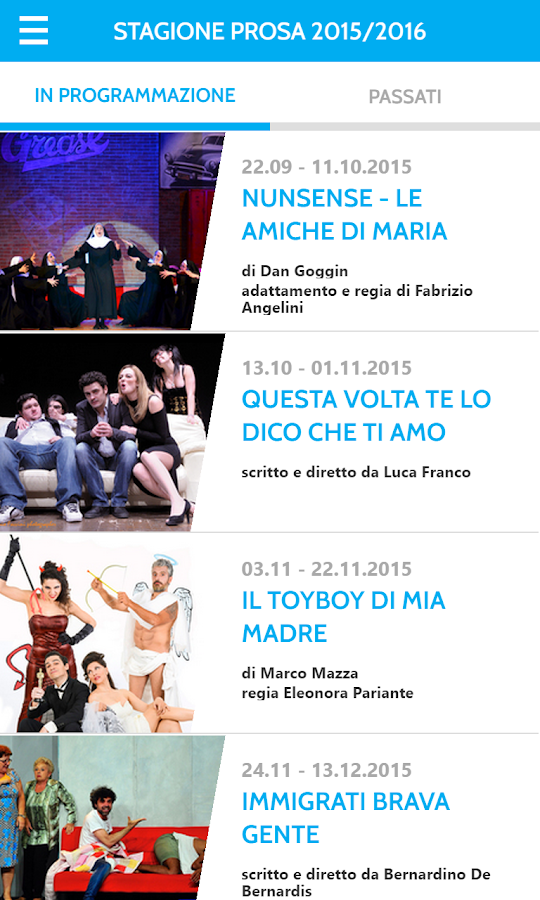 Teatro de' Servi- screenshot