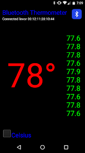 Bluetooth Thermometer- screenshot thumbnail