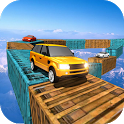 Impossible Car Driving Skyline Driver 3D icon