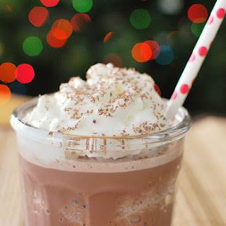 Frozen Hot Chocolate.