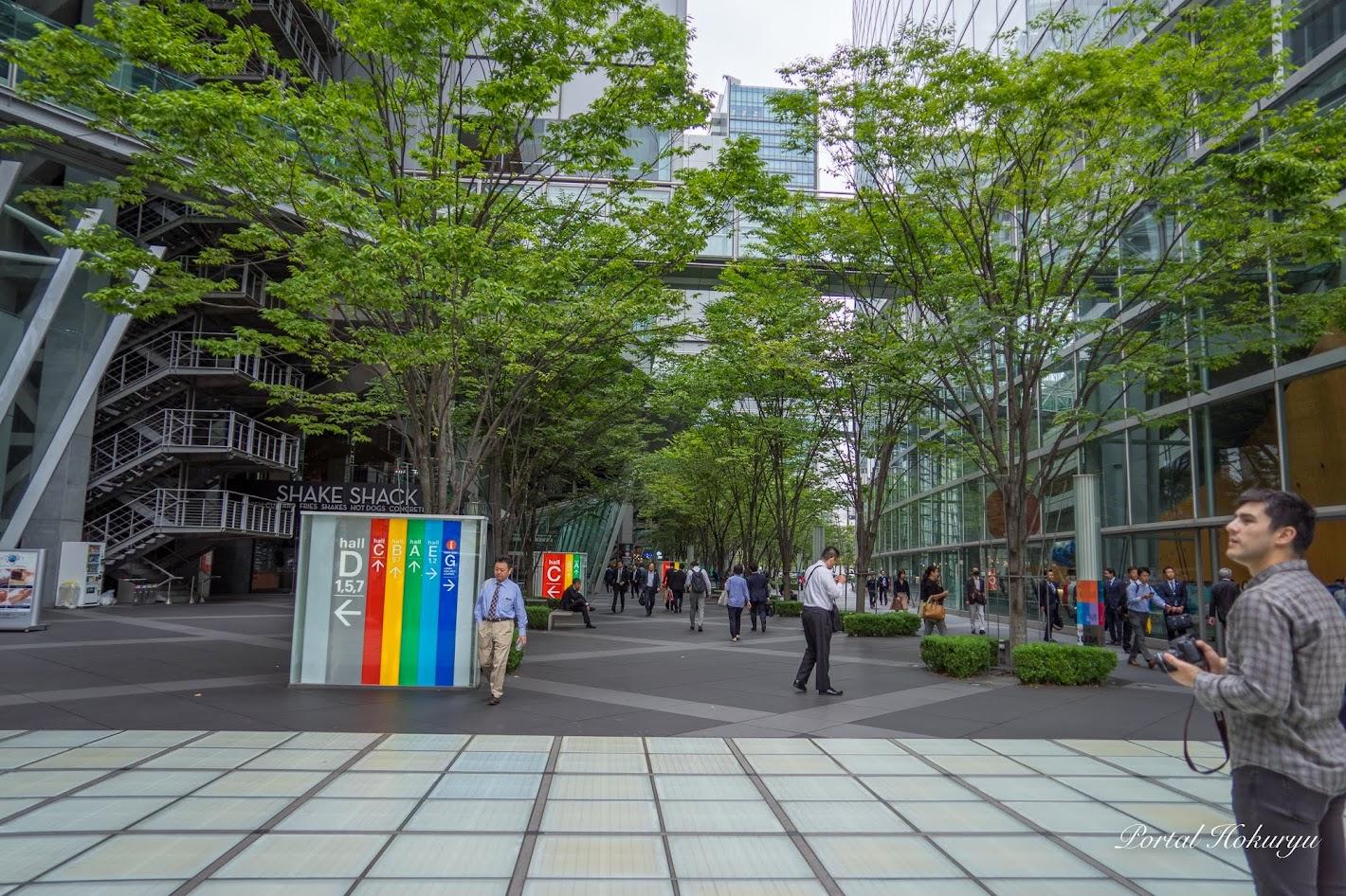 東京国際フォーラム・1F