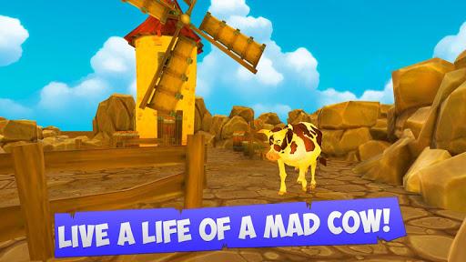 Crazy Farm Cow Simulator 3D