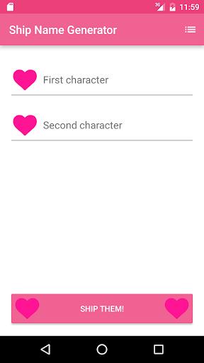 Fandom Ship Names Generator|玩拼字App免費|玩APPs