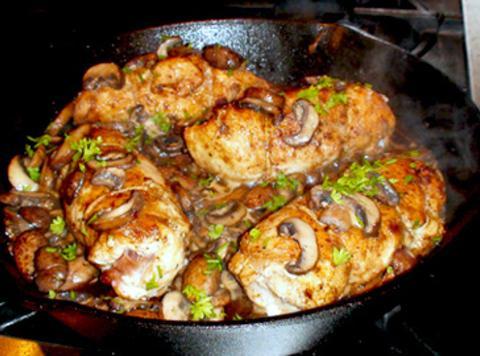 Chicken Breasts In Mushroom Sauce Recipe