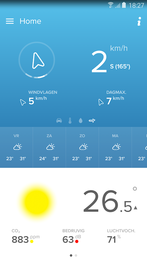 netatmo weather android apps op google play. Black Bedroom Furniture Sets. Home Design Ideas