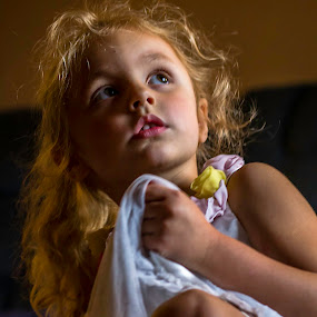 The Baby Sitter  by William Boyea - Babies & Children Child Portraits ( girl child,  )