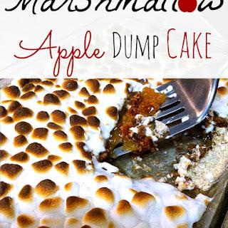 Marshmallow Apple Pie Spice Dump Cake.