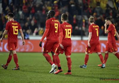 La Belgique garde logiquement sa place au Classement FIFA