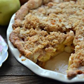 Apple Crumb Pie.
