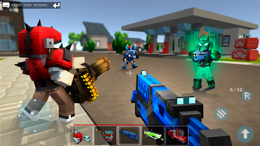 Mad GunZ - shooting games, online, Battle Royale apkpoly screenshots 2