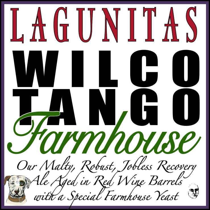 Logo of Lagunitas Wilco Tango Farmhouse