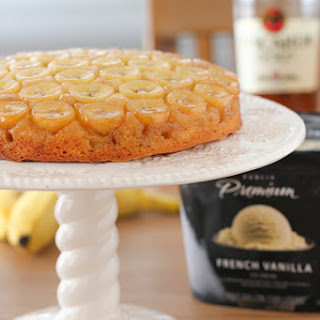 Banana Foster Upside Down Cake.