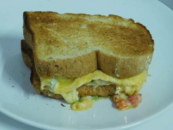 Omelet Sandwich Recipe