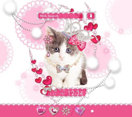 壁纸·图标 公主小猫 +HOME