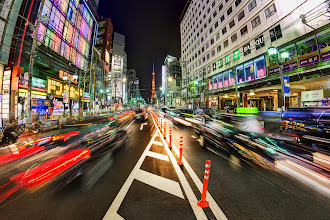 Photo: I took this photo last night while crossing the street in Tokyo... this place is full of awesome!