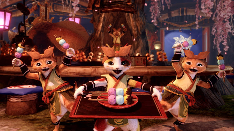 You can also retain the services of a Palico, just like previous Monster Hunter games, and they remain adorable as ever.