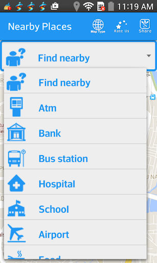 Find Nearby Places