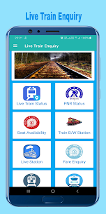 Train Enquiry, Indian Railway – IRCTC & PNR Status App Download For Android 1