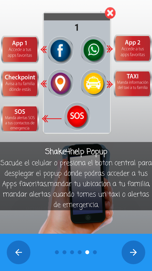 SHAKE4HELP- screenshot
