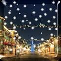 Snow Night Live Wallpaper PRO icon