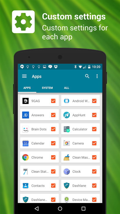 NotifierPro Heads-up Free- screenshot