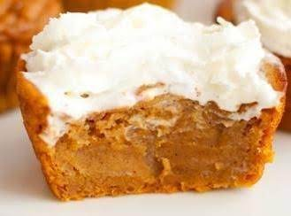 Impossible Pumpkin Pie Cupcakes Recipe