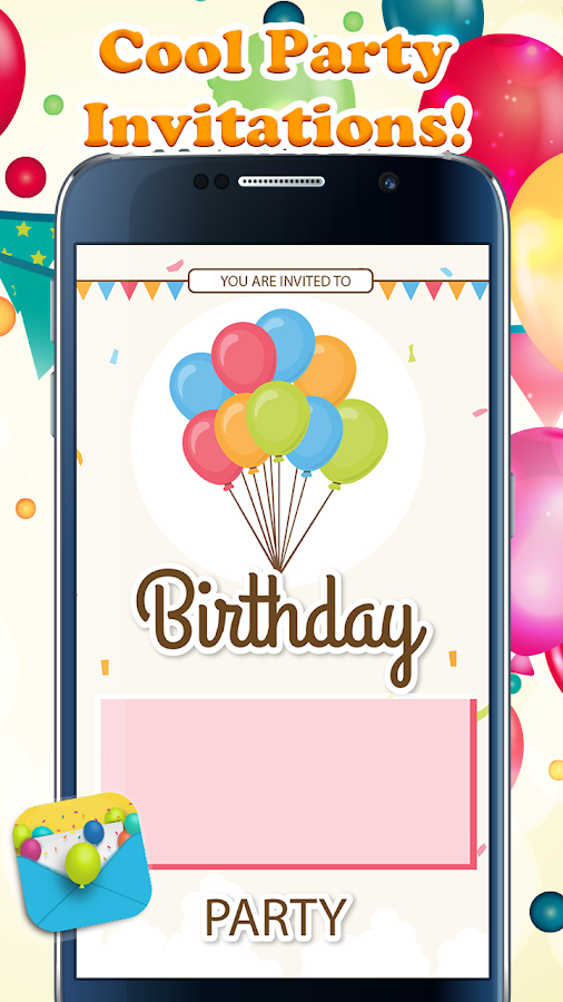 Party Invitation Cards Maker Android Apps on Google Play – Party Invite Maker