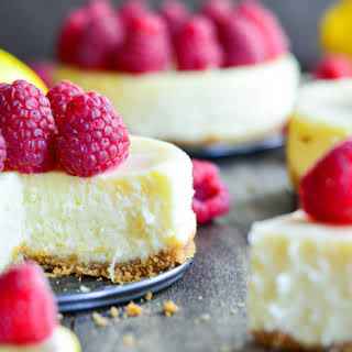 Raspberry Lemon Cheesecake.