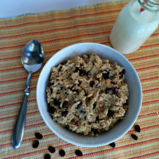 Peanut Butter and Honey Oatmeal.