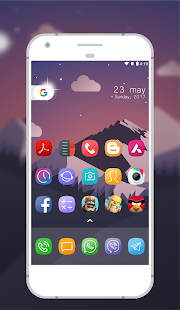 Elie Galaxy S8 icons - náhled
