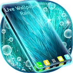 Live Wallpaper Rain Apk
