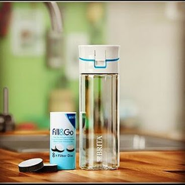 德國BRITA Fill&Go Filter Bottle (Blue)