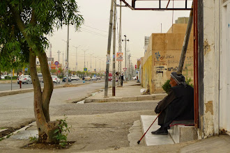 Photo: Old man, Erbil, South Kurdistan 2014