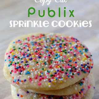Copy Cat Publix Sprinkle Cookies.
