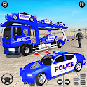 Grand Police Vehicles Transport Truck icon