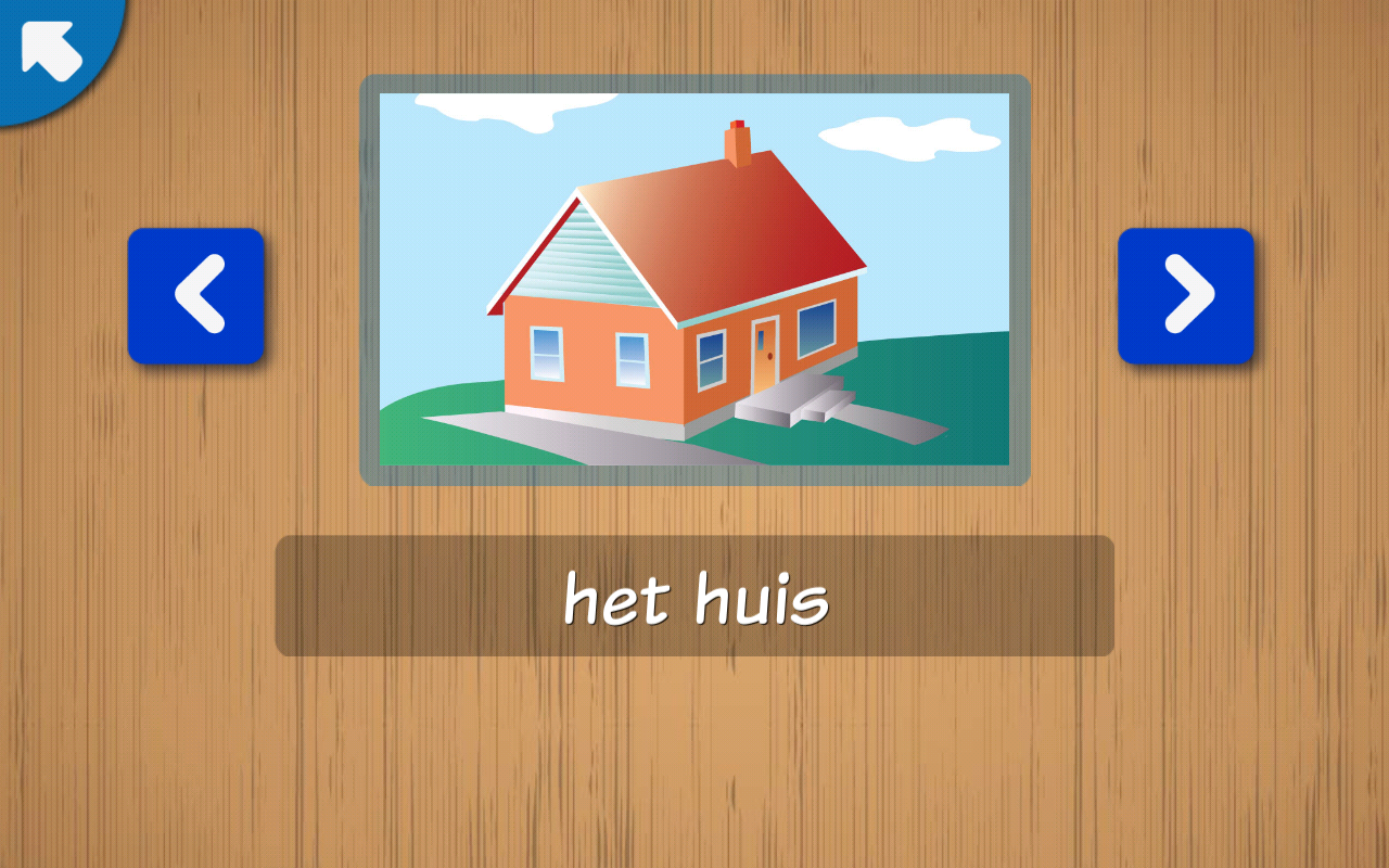 Kids learn Dutch Words - practise to read, write- screenshot