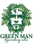 Green Man Ribbon Cutter