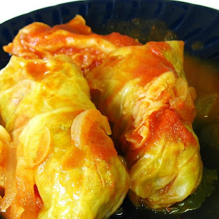 Gluten Free Stuffed Cabbage Rolls (Turkey and Rice)