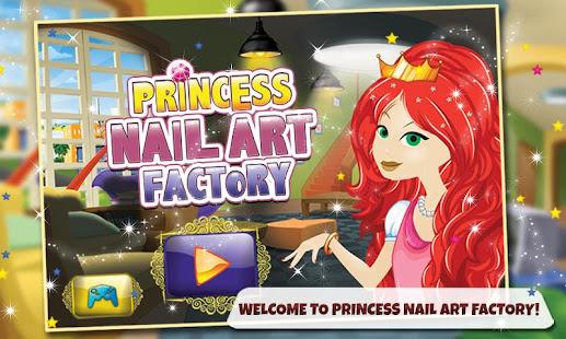 Princess Nail Art Factory Apps On Google Play