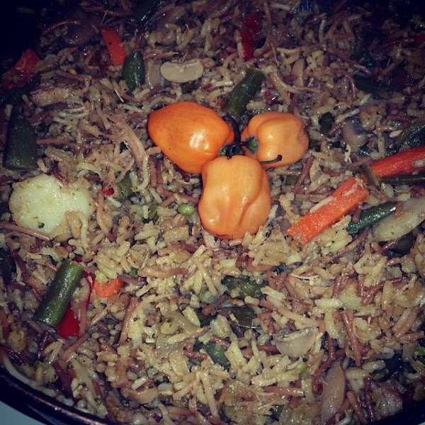 Pork Fried Rice, Iris Recipe