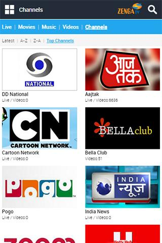 ZengaTV Mobile TV Live TV – (Android Apps) — AppAgg
