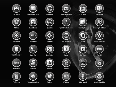 Enyo Gray - Icon Pack screenshot 13