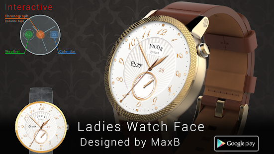 Ladies Watch Face - náhled