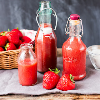 Simple Strawberry Sauce.