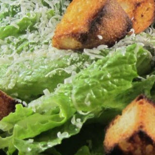 Classic Restaurant Caesar Salad.