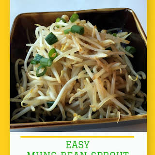 Easy Mung Bean Sprouts Stir-Fry.