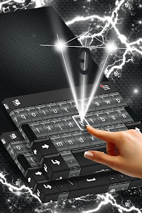 Carbon Keyboard Theme - náhled