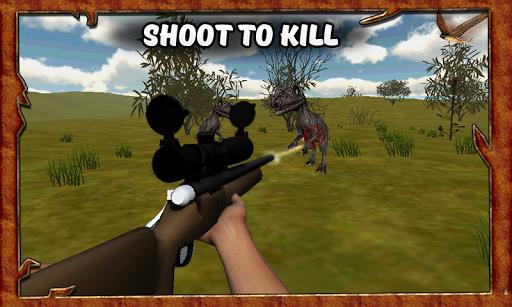 致命的恐龙狩猎模拟器